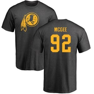 Stacy McGee Washington Redskins Men's Pro Line by Branded One Color T-Shirt - Ash